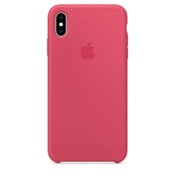Apple iPhone XS Max Silicone Case - Hibiscus