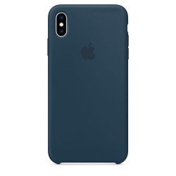 Apple iPhone Xs Max Silicone Case - Pacific Green