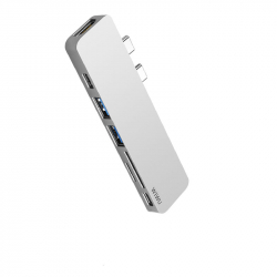 WIWU T8 7 in 1 USB Type-C Hub Silver