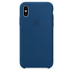 Apple iPhone XS Silicone Case - Blue Horizon (MTF92)