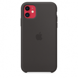 Apple iPhone 11 Silicone Case - Black (MWVU2)