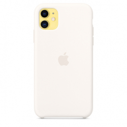 Apple iPhone 11 Silicone Case - White (MWVX2)