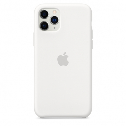 Apple iPhone 11 Pro Silicone Case - White (MWYL2)