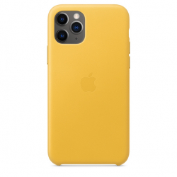 Apple iPhone 11 Pro Leather Case - Meyer Lemon (MWYA2)