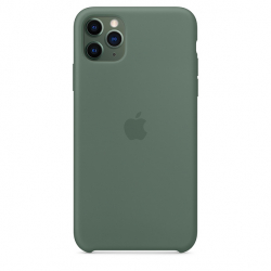 Apple iPhone 11 Pro Max Silicone Case - Pine Green (MX012)