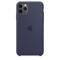 Apple iPhone 11 Pro Max Silicone Case - Midnight Blue (MWYW2)
