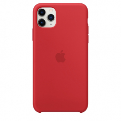 Apple iPhone 11 Pro Max Silicone Case - PRODUCT RED (MWYV2)