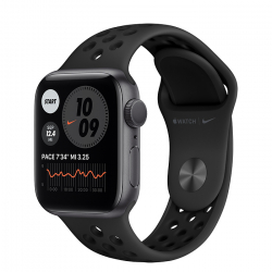 Apple Watch Series SE Nike GPS 40mm Space Gray Aluminum Case with Anthracite/Black Nike Sport Band (MYYF2)