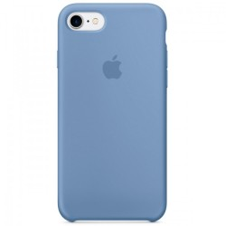 Apple iPhone 7/8 Silicone Case - Azure