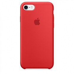 Apple iPhone 7/8 Silicone Case - (PRODUCT)RED