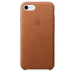 Apple iPhone 7/8 Leather Case - Saddle Brown