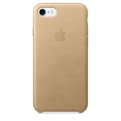 Apple iPhone 7/8 Leather Case - Tan