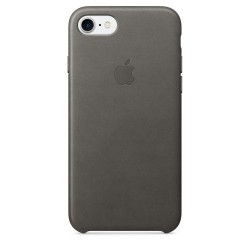 Apple iPhone 7/8 Leather Case - Storm Gray